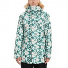 686 Women's Dream Insulated Jacket CRYSTAL GREEN GEM (S)