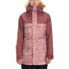686 Women's Dream Insulated Jacket CRUSHED BERRY WASH COLORBLOCK (S)