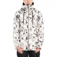 686 Women's Athena Insulated Jacket BONE BLOOM (S)