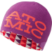 Atomic Stacked Revers Beanie Berry
