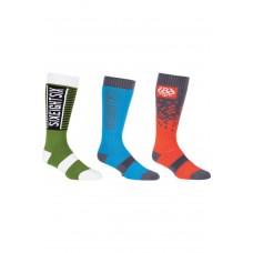 686 Men's Knockout Sock (3-Pack) (40-44)