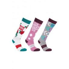 686 Women's Heater Sock (3-Pack) (36-40)