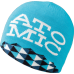 Atomic Stacked Revers Beanie Turquoise