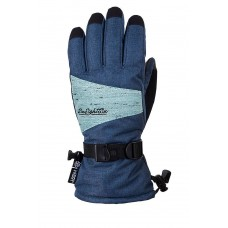 686 Women's Paige Glove Bluesteel (M L)