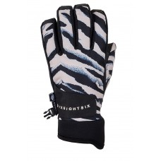 686 Women's Crush Glove Zebra (S)