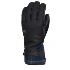 686 Men's Woodland Glove NAVY PLAID (L)