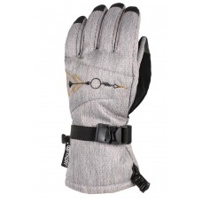 686 Women's Paige Glove GREY DIAMOND TEXTURE (M)