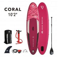 SUP dēlis Aqua Marina Coral 10.2 (310x78x12cm) Aquamarina BT-21COP