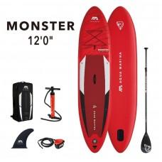 SUP dēlis Aqua Marina Monster 12.0 366x84x15cm aquamarina BT21-MOP