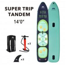 SUP dēlis Aqua Marina Super Trip Tandem 14.0  (427x86x15cm) Aquamarina