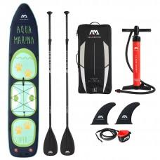 SUP dēlis Aqua Marina Super Trip Tandem 14.0  (SUP + 2 airi + līša) 427x86x15cm Aquamarina