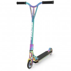 Skrejritenis Stunt Scooter Raven Code Neo Chrome  120mm