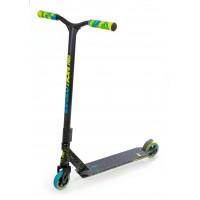 Skrejritenis Stunt Scooter Raven Pro Blue / Lime 110mm