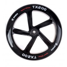 Scooter Wheel Raven Straight Black 200mm