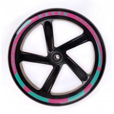 Scooter Wheel Raven Dots Black 200mm