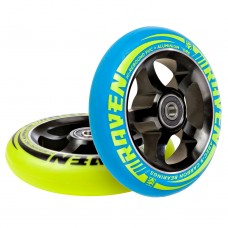 Scooter Wheel Raven Pro Blue/Lime 110mm