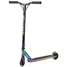 Skrejritenis Stunt Scooter Raven Evolution Slick Neo Chrome 100mm