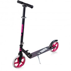 Skrejritenis Kick Scooter Raven Straight Black/Pink 200mm