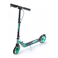 Skrejritenis Kick Scooter Raven Straight Black/Mint 200mm Ar rokas bremzi