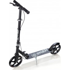 Skrejritenis Kick Scooter Raven Straight Black/White 200mm Ar rokas bremzi