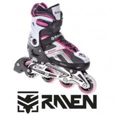 Skrituļslidas Raven Pulse Black/Pink (39 - 42)