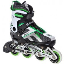 Skrituļslidas Raven Pulse Black/Green (39 - 42)
