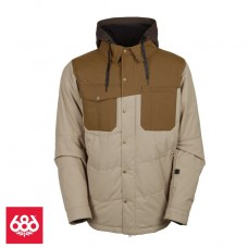 686 Authentic Woodland Ins Jacket Khaki (M L)