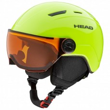 Head Mojo Visor Lime Junior (XS/S)