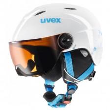 UVEX Junior Visor White - Turqouise (XS/S)